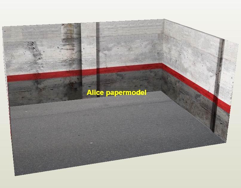 Hot Wheels tomica drift underground garage parking lot area car model scene background base platform models