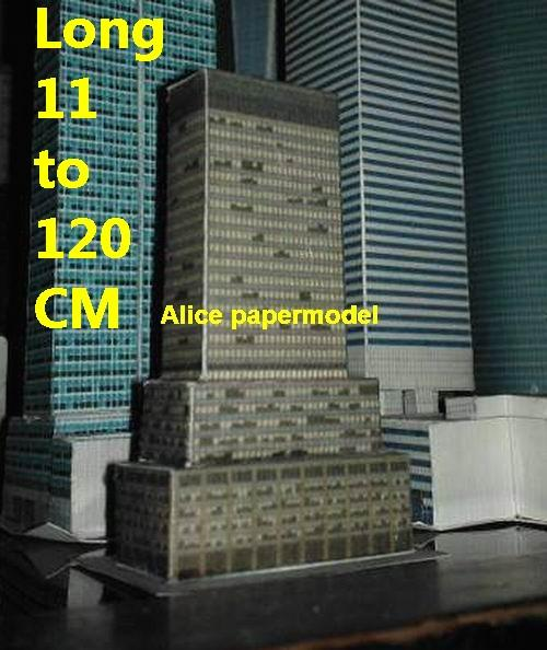 US USA NYC MacMillan skyscraper street city highrise tall High building city scene big large scale size model models kit on for sale store shop