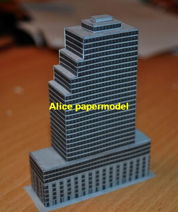 black hotel business quarter zone residence tall building skyscraper architecture scene models