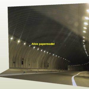 underwater tunnel highway street road parking garage area lot car model scene base background models