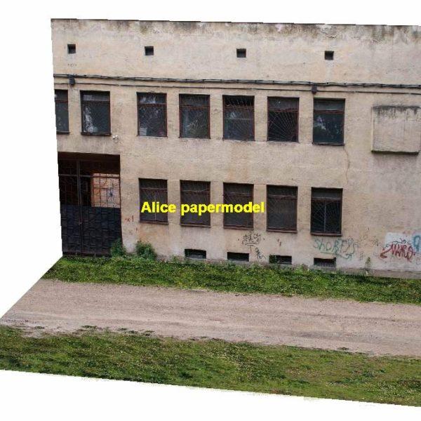 Abandon factory sand land Hot Wheels tomica plane hangar soldier underground garage parking lot spaces area car model scene background base platform models