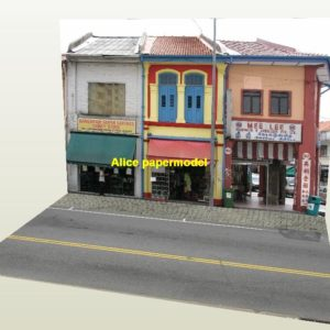 1:64 1:43 1:32 1:24 1:18 1:12 scale shop street scene house building underground garage parking lot area Military Soldiers Barbie doll car model scene background base platform models