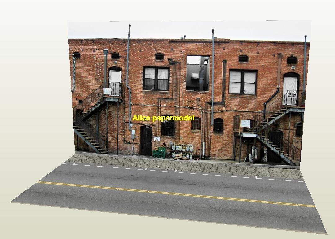 1:64 1:43 1:32 1:24 1:18 1:12 1:10 scale coat European city shop street scene house building underground garage parking lot area car model scene background base platform models