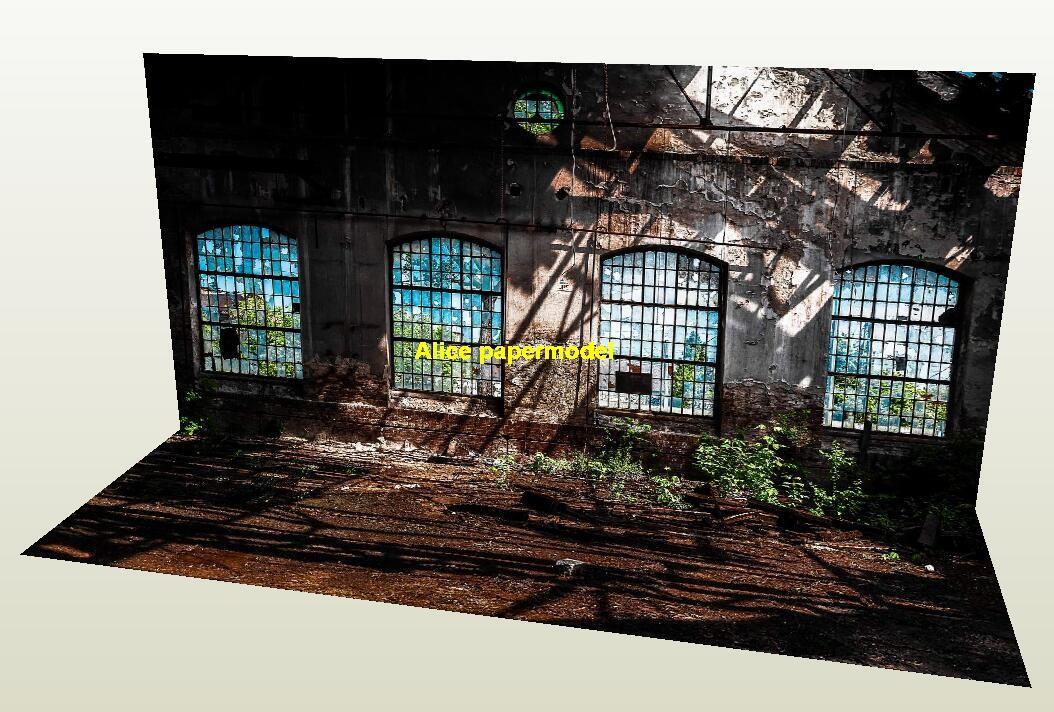 warehouse factory underground parking garage area lot car model scene background base models