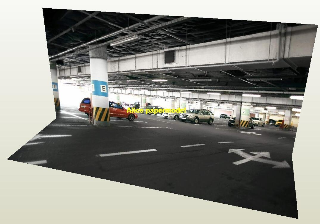 1:64 1:43 1:32 1:24 1:18 underground parking garage area lot highway City road Skyscrapers car model scene background base models