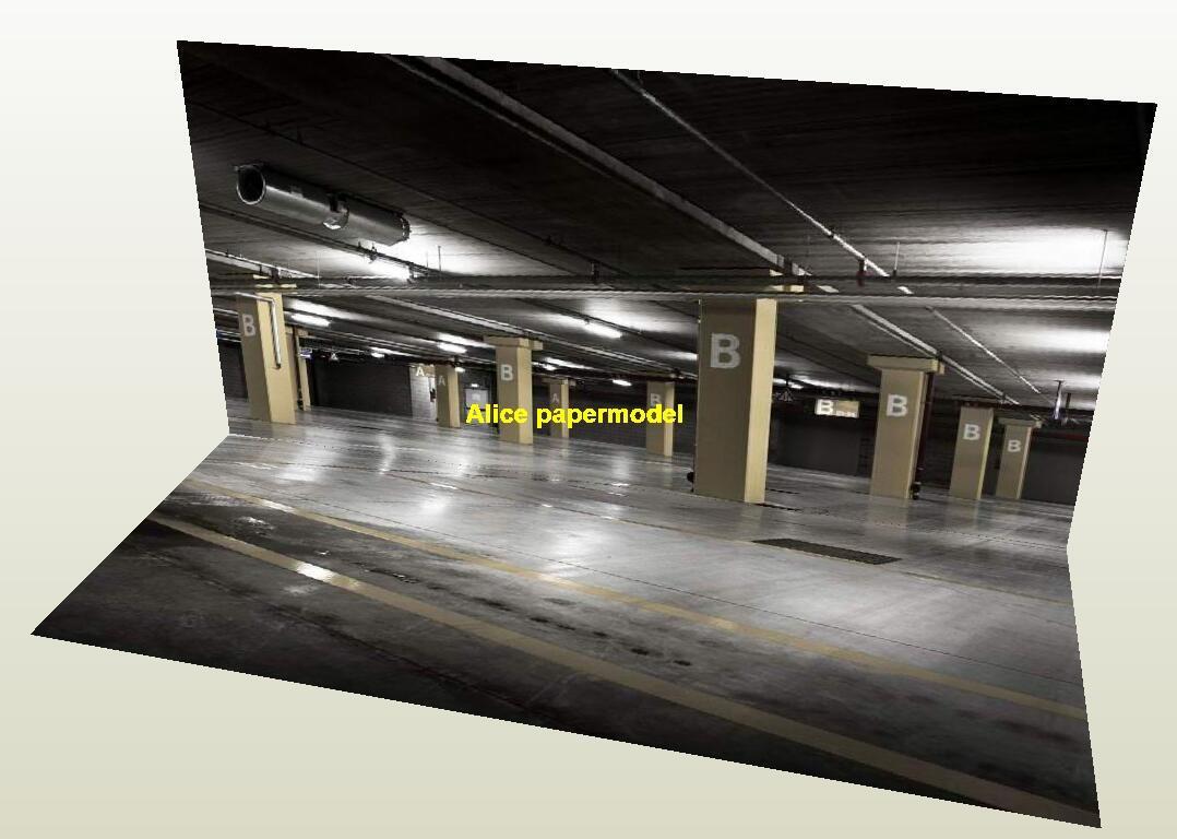 underground parking garage area lot highway City road Skyscrapers car model scene background base models