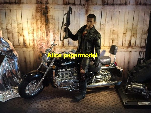 1:6 1:12 1:24 scale Abandoned Factory acid rain soldier doll car model scene