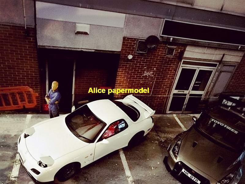Factory Hot Wheels Drift Underground Garage Parking Lot