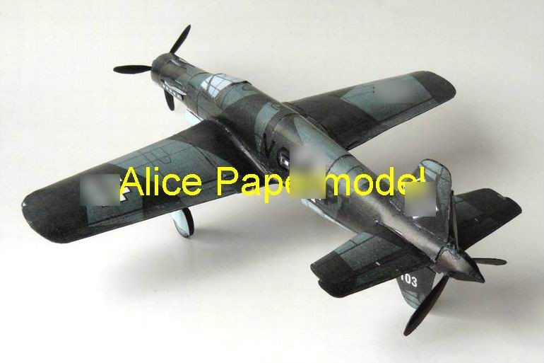 WWII German Do-335 figher vintage aircraft biplane models