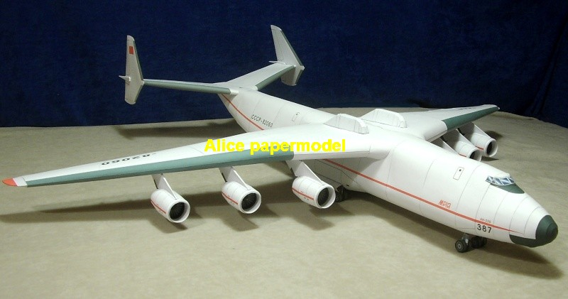 Russia Antonov An-225 An2255 Remote transport plane figher aircraft army warplane models