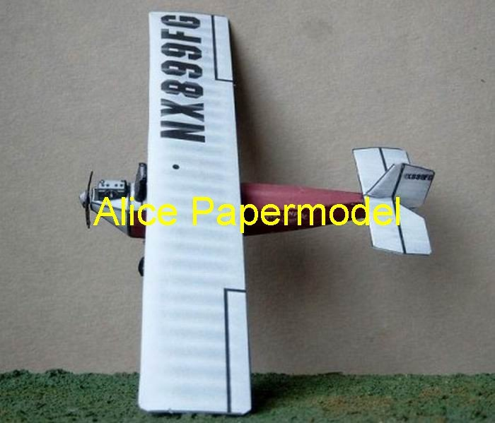 Easy made Air Camper Single-engine aircraft glider plane models