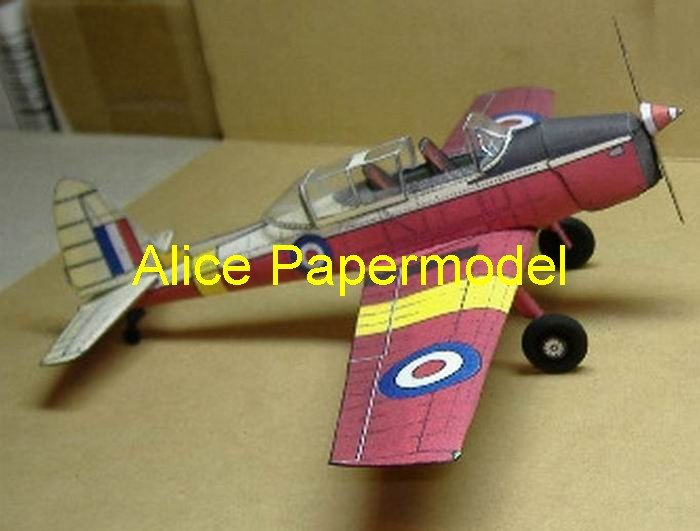 UK DH C-1 old vintage aircraft biplane plane models