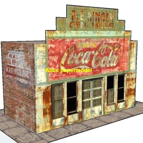 1:32 1:24 Coca cola shop Hot Wheels tomica drift underground garage parking lot area car model scene background base platform models
