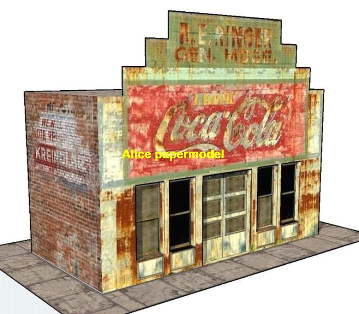 1:32 1:24 Coca cola shop Hot Wheels tomica drift underground garage parking lot area car model scene background base platform models