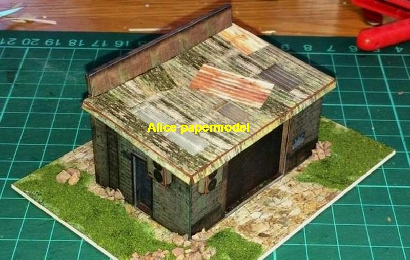 1:64 1:43 1:32 1:24 1:18 old Car repair shop vintage Hot Wheels drift underground garage parking lot area car model scene background base platform models