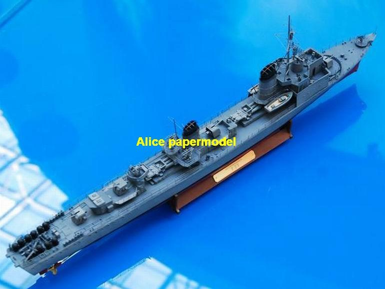 WWII German T-22 T22 Elbing destoryer Torpedo boat aircraft carrier landing ship craft large scale size super big long submarine battleship Modern Guided missile frigatepassenger liner Ship Ferry tugboat military warship ship paper models