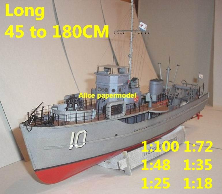 1:100 1:72 1:48 1:35 1:25 1:18 scale WWII old NAVY russia patrol boat Gunship destoryer battleship Cruiser landing aircraft carrier large scale size super big long submarine Modern Guided missile military frigate warship ship paper models