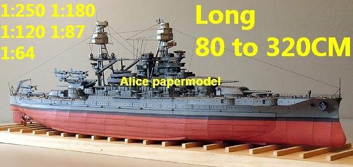 1:250 1:180 1:120 1:87 1:64 scale WWII USS Arizona battleship landing ship craft large scale size super big long submarine Modern Guided missile frigate destoryer aircraft carrier passenger liner Ship Ferry tugboat military warship ship paper models