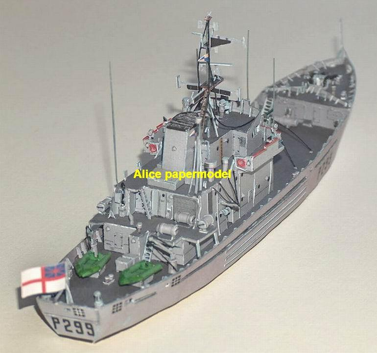 1:250 1:180 1:120 1:87 1:72 1:64 UK HMS landing ship patrol boat missile frigate destoryer Torpedo boat battleship submarine large scale size super big long aircraft carrier military warship ship papercraft models model
