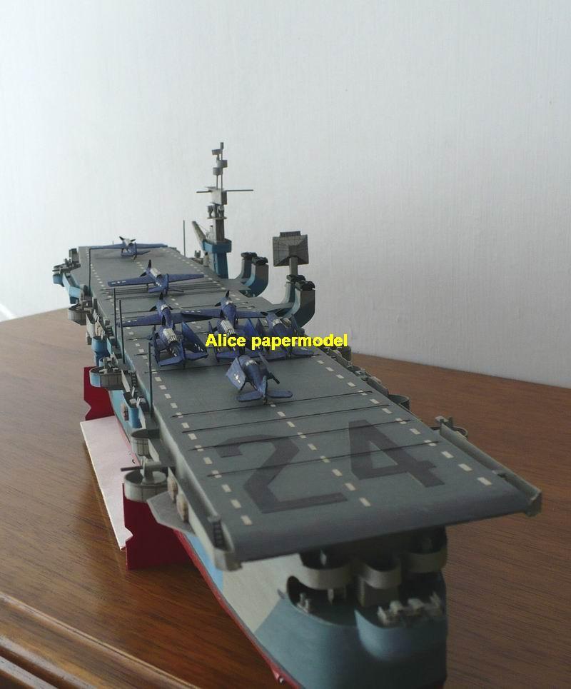 alice papermodel  wwii us cv24 cv