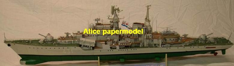 1:300 1:200 1:144 1:100 1:72 Russia missile cruiser aircraft carrier landing ship craft large scale size super big long submarine battleship frigate destoryer military warship ship paper model models