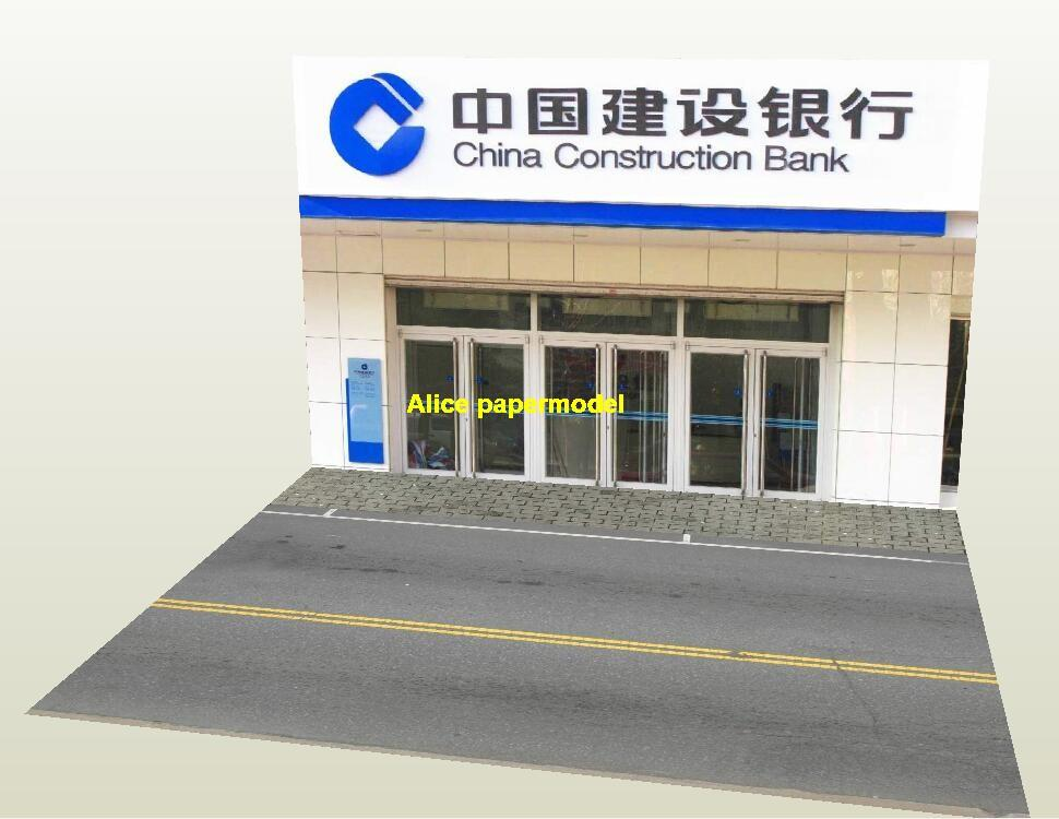 1:64 1:43 1:32 1:24 1:18 1:12 1:10 1:8 1:6 scale bank city shop street scene parking garage house building doll Military Soldiers car model scene background base platform models