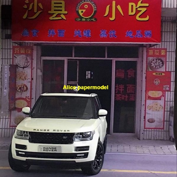 1:64 1:43 1:32 1:24 1:18 1:12 1:10 scale Chinese restaurant Shaxian snacks city shop street scene parking garage house building doll Military Soldiers car model scene background base platform models