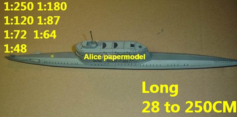 1:250 1:180 1:120 1:87 1:72 1:64 1:48 WWII German submarine U Boot U-Boot U2 U boat U-boat Typ G large scale size super big long battleship missile frigate destoryer aircraft carrier passenger liner military warship boat ship paper model models