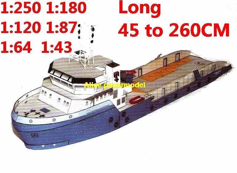 1:250 1:180 1:120 1:87 1:72 1:64 1:43 Coast Guard ship Fishery Protection Vessel bulk freighter Ocean-going oil tanker cargo Container Ferry tugboat papercraft model models