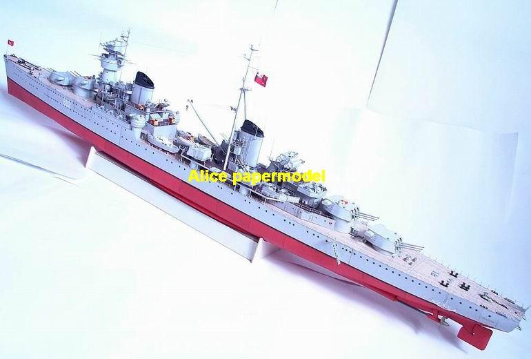 WWII Russia Cruiser battleship aircraft carrier landing large scale size super big long submarine Modern Guided missile frigate destoryer passenger liner military warship ship paper models