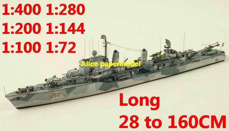 1:400 1:280 1:200 1:144 1:100 WWII Swedish destoryer cruiser torpedo boat submarine battleship large scale size super big long missile frigate aircraft carrier military warship ship paper models model
