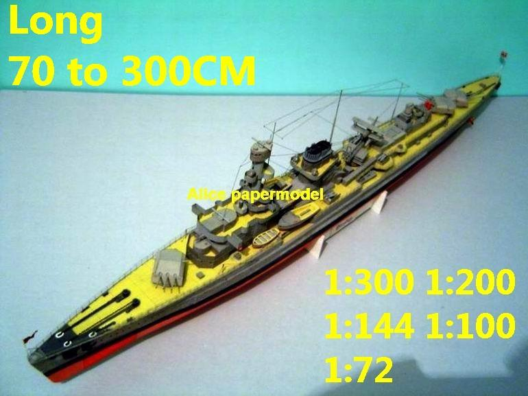 WWII German Heavy Cruiser DKM Nurnburg battleship landing ship aircraft carrier craft large scale size super big long submarine Modern Guided missile frigate destoryer passenger liner Ferry tugboat military warship ship paper models
