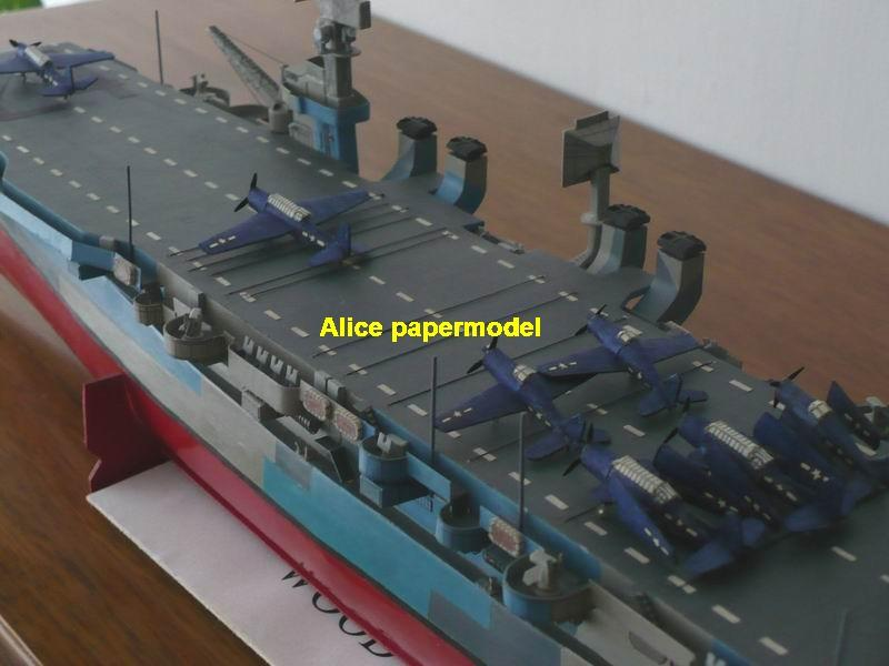 WWII US independent class USS Belleau Wood aircraft carrier German landing ship craft large scale size super big long submarine battleship Modern Guided missile frigate destoryer passenger liner Ferry military warship ship paper models