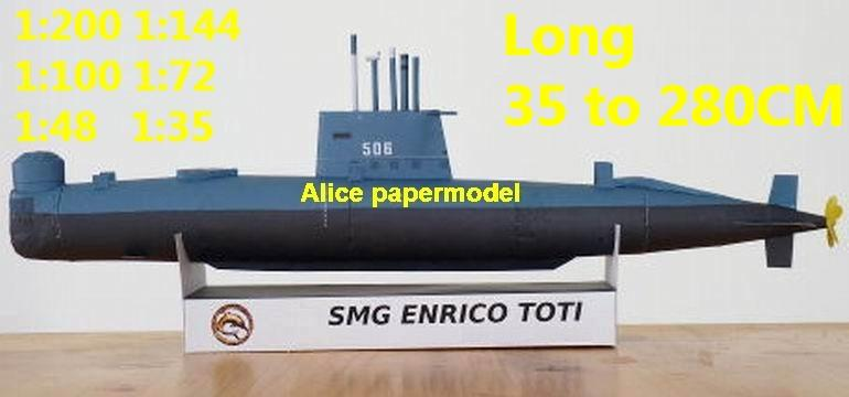 1:200 1:144 1:100 1:72 1:48 WWII Italy submarine toti destoryer Cruiser battleship aircraft carrier large scale size super big long missile frigate military warship ship model models