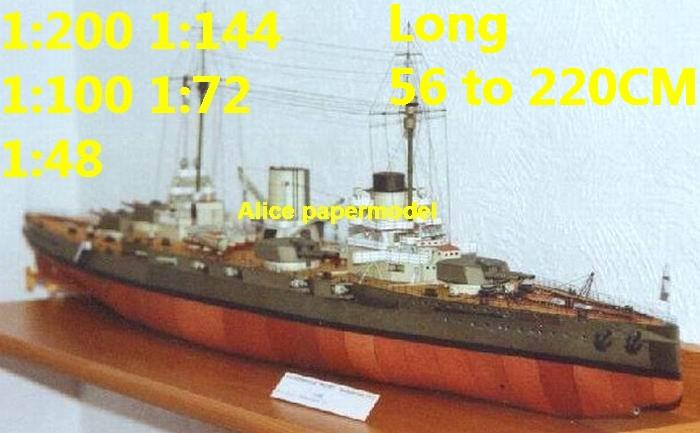 WWI German SMS Moltke Ironclad battleship missile cruiser frigate destoryer aircraft carrier landing ship large scale size super big long submarine military warship papercraft model models