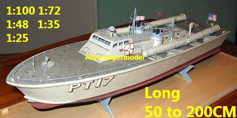 Torpedo boat gunboat gunship ironclad frigate missile submarine destoryer large scale size super big long battleship aircraft carrier military warship ship papercraft models model