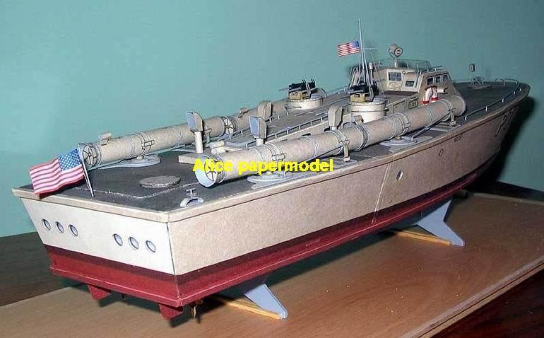 Torpedo boat gunboat gunship ironclad frigate missile submarine destoryer large scale size super big long battleship aircraft carrier military warship ship papercraft models model