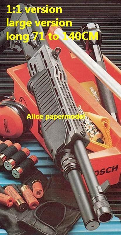 SPAS Assault shotgun Sniper Rifle Submachine Pistol toy gun weapon model models for sale