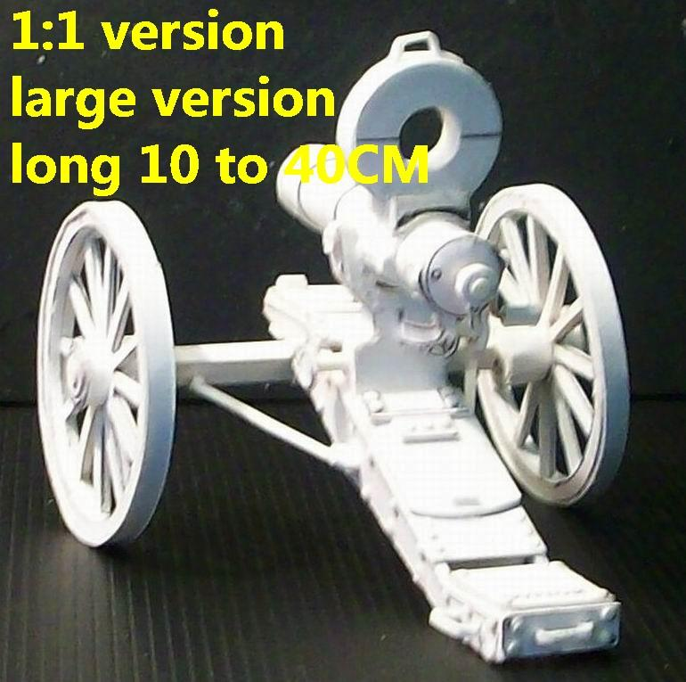 Vintage cannon Gatling gun Vulcan machine gun rifle toygun weapon model models for sale