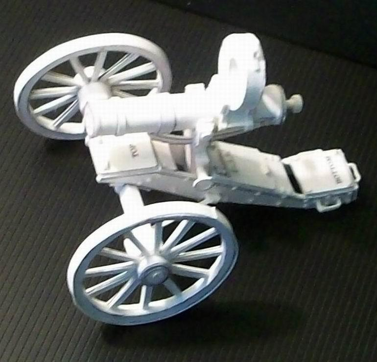 Vintage cannon Gatling gun Vulcan machine gun rifle toygun weapon models model