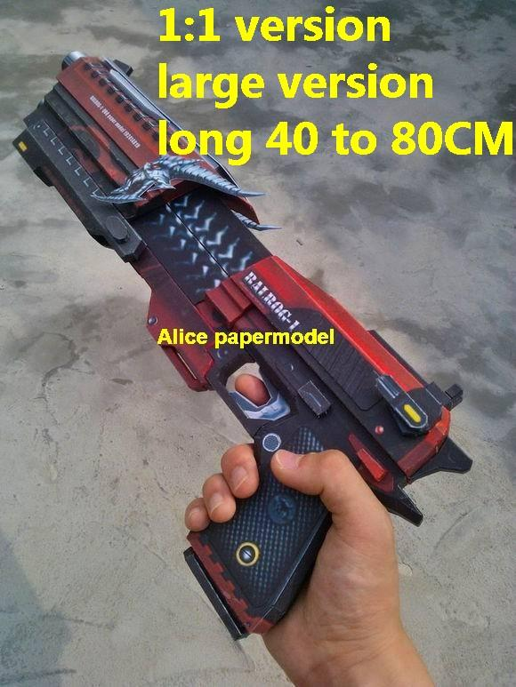 CSOL Balrog pistol sniper rifle carbine revolver machine shotgun rocket Launcher toy gun weapon models model for sale