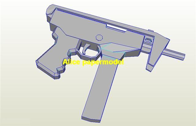 Kedr PP91 sub machine gun assault rifle pistol toygun models