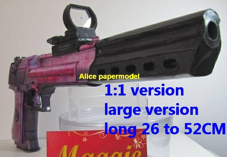 US IMI Desert Eagle Magnum pistol gun sniper rifle carbine revolver heavy machine shotgun rocket Launcher toy weapon models model for sale