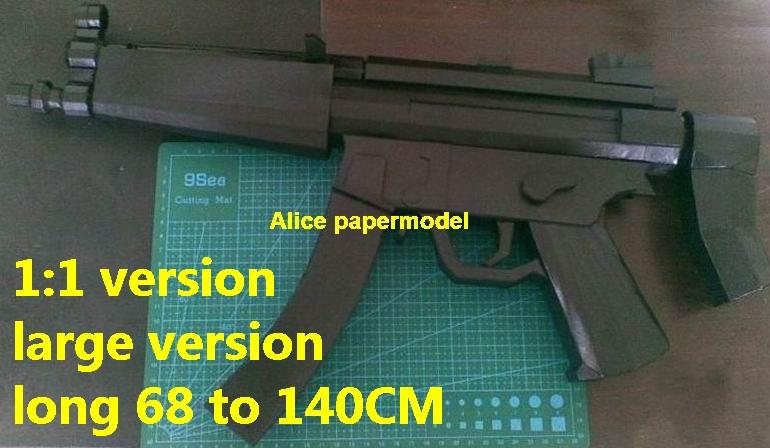 German HK MP5 MP-5 Assault Rifle automatic rifles submachine gun weapon toygun models for sale