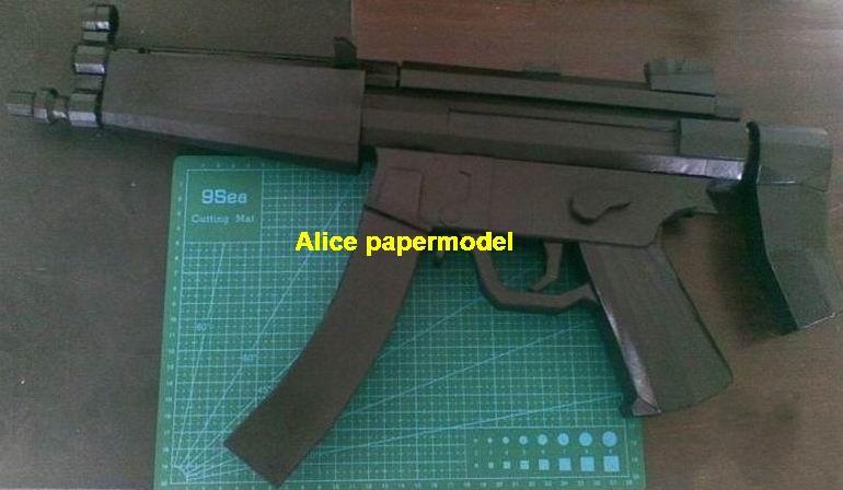 German HK MP5 MP-5 Assault Rifle automatic rifles submachine gun weapon  toygun models for sale