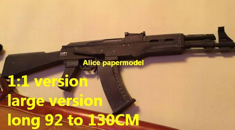 black color tactical AK-74 AK74 AK103 AK-103 assault rifle pistol sniper revolver machine shotgun toy gun weapon model models for sale shop store