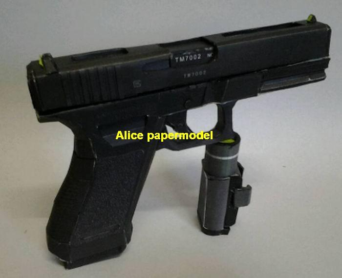 Austria GLOCK 18C 17 assault rifle sniper carbine revolver machine shotgun rocket Launcher toy gun weapon models model for sale shop store