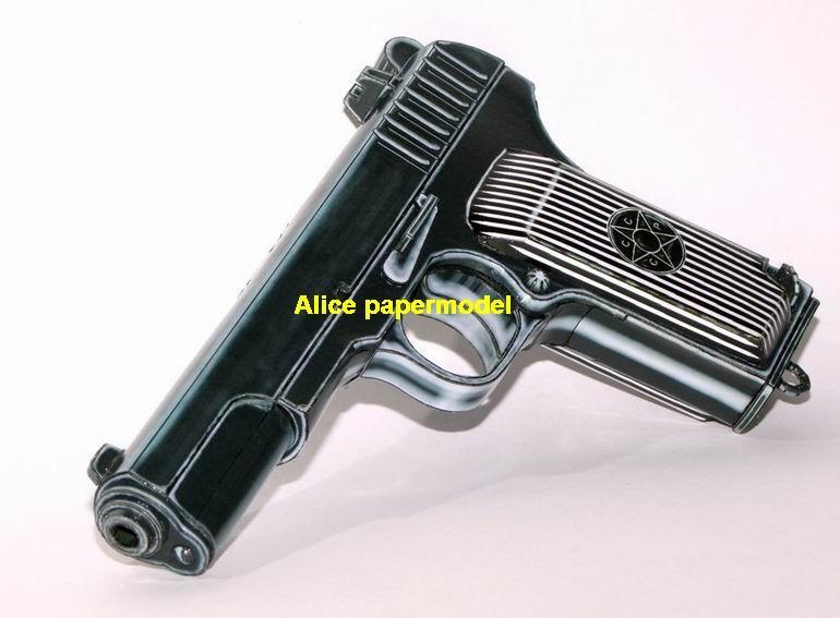 Russia Tokarev TT-33 TT33 pistol Revolver handgun toygun weapon gun model models