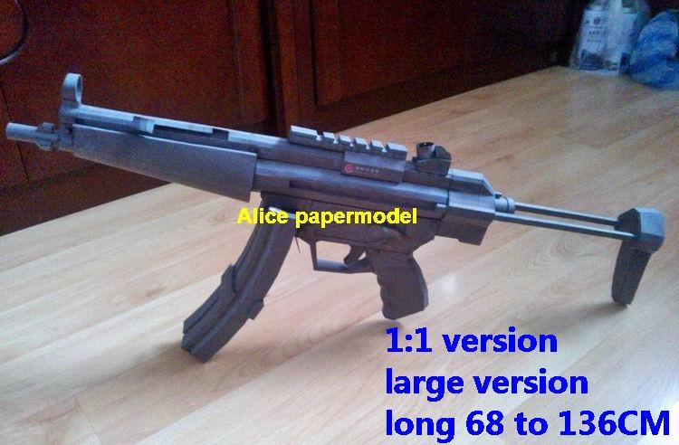 Germany German HK MP5 gun submachine pistol sniper rifle carbine revolver shotgun rocket Launcher toy weapon models model for sale