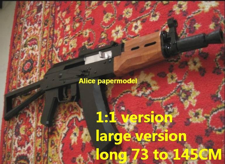 Russia AKSU AK-47 AK47 assault rifle pistol machine gun toygun rifle models for sale